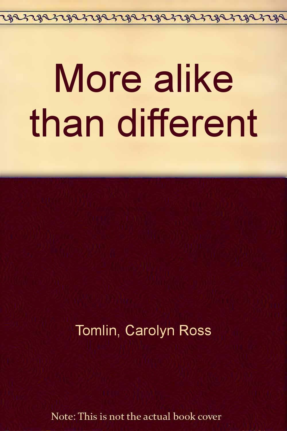 6099b314221 Amazon.in  Buy More alike than different Book Online at Low Prices ...