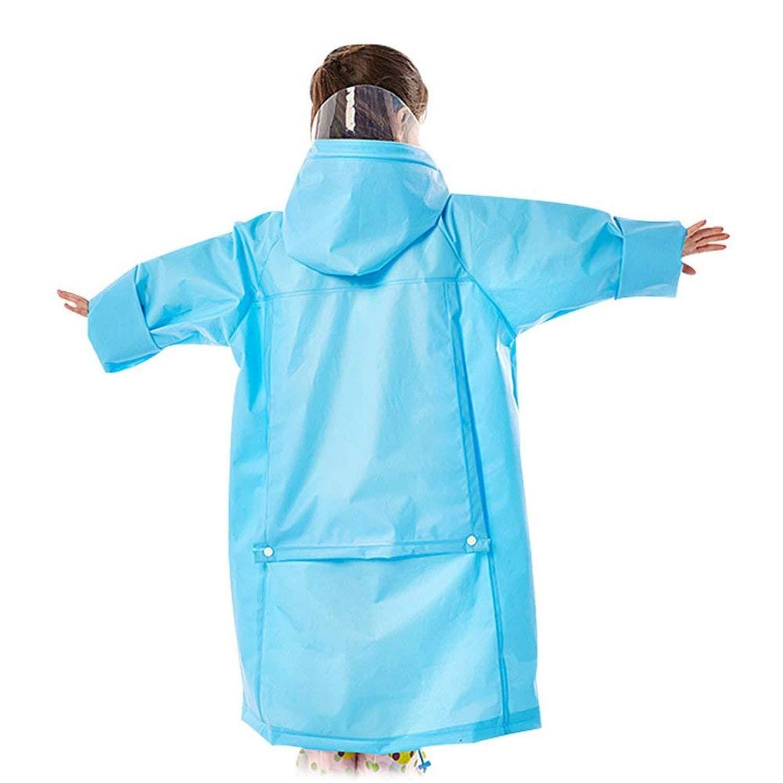 22ab366783dd Amazon.com  Kids Students Jacket Rain Poncho School Bag Cover ...