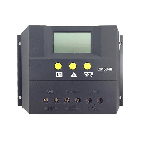 Homyl Control Solar de Batería de Cargador Solar de Control ...