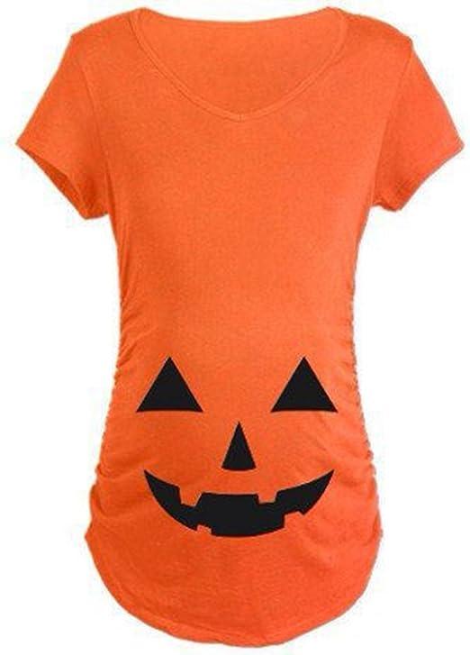 iumer Halloween Tops fácil de Halloween disfraz divertido para ...