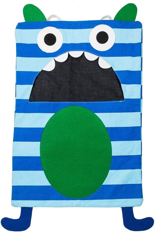 Midwest-CBK Blue Stripe Monster Laundry Bag