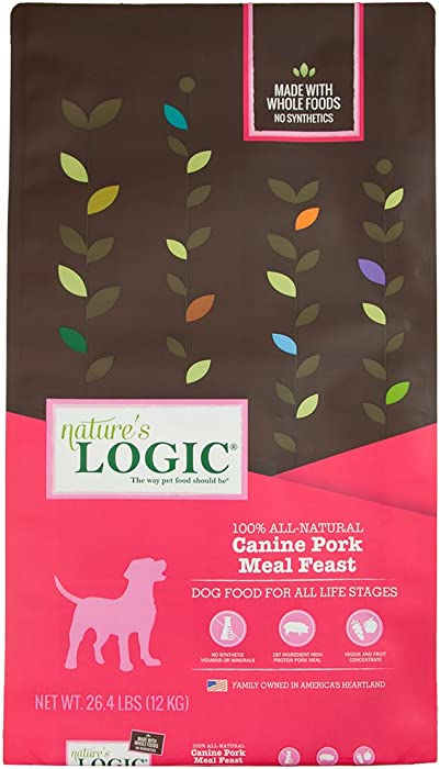 Nature'S Logic Dog Food Canine Meal Feast, Pork