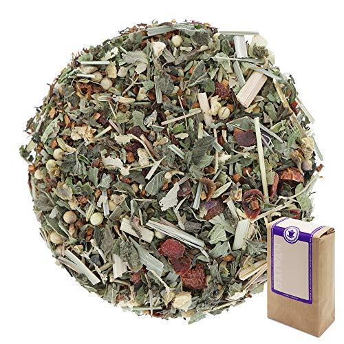 Num 1237 Te de hierbas organico Fitness Tea - hojas sueltas ecologico - 100 g - GAIWAN GERMANY - rooibos, rosa mosqueta, jengibre, cilantro, menta, balsamo de limon, phillyrea, hinojo, limoncillo