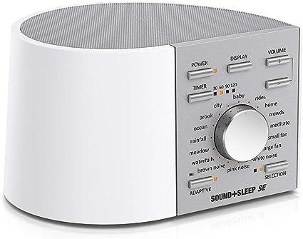 Sound+Sleep SE Edición Especial Máquina de Sonido del Sueño de ...