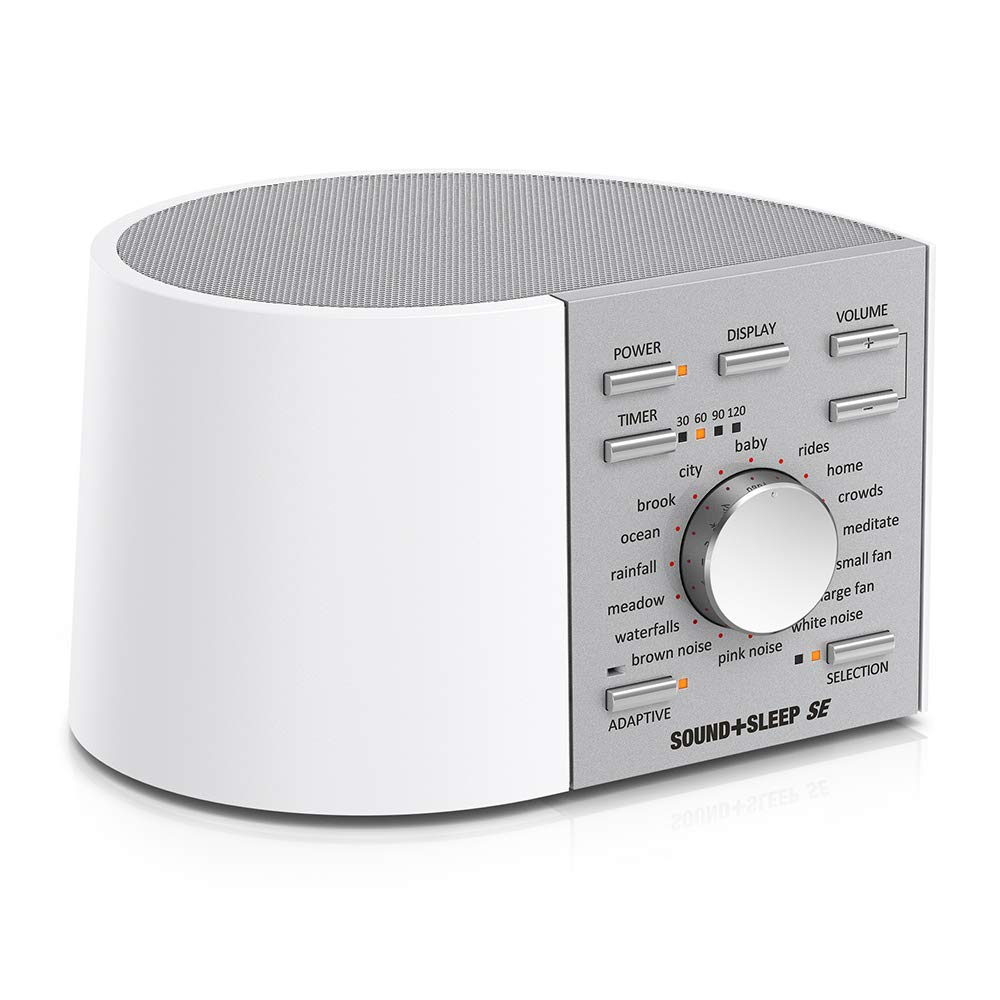 Sound+Sleep SE Special Edition High Fidelity Sleep Sound Machine with Real Non-Looping Nature Sounds, Fan Sounds, White, Pink & Brown Noise, Adaptive Sound Technology