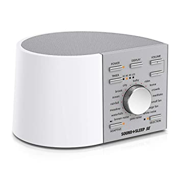 534e838a8fa Sound+Sleep SE Special Edition High Fidelity Sleep Sound Machine with Real  Non-Looping