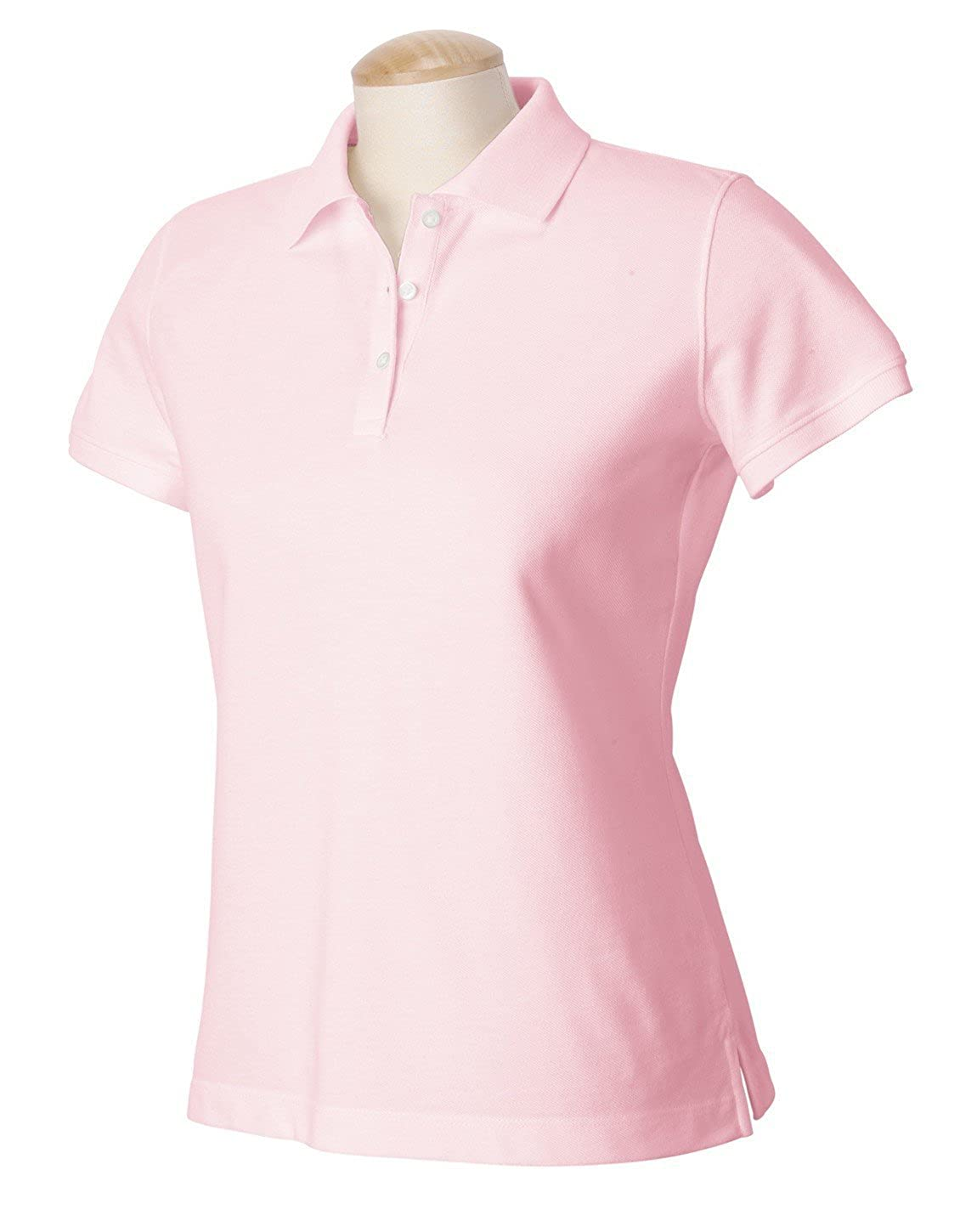 Devon & Jones Women's Short Sleeve Five-Star Performance Pique Polo Shirt D320W Devon & Jones D320w