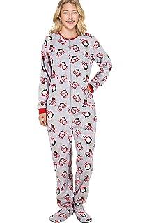 385e1740c Hello Kitty Womens Lovely Dreamer Polar Fleece Jumper Footed Pajamas ...