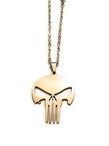 Collier Métal Punitore Nickel The Giulyscreations Free Le Punicher bf7IY6ymgv