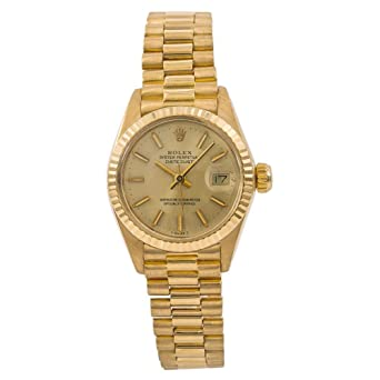c4e2a87bf71 Rolex Datejust Automatic-self-Wind Female Watch 6917 (Certified Pre-Owned)