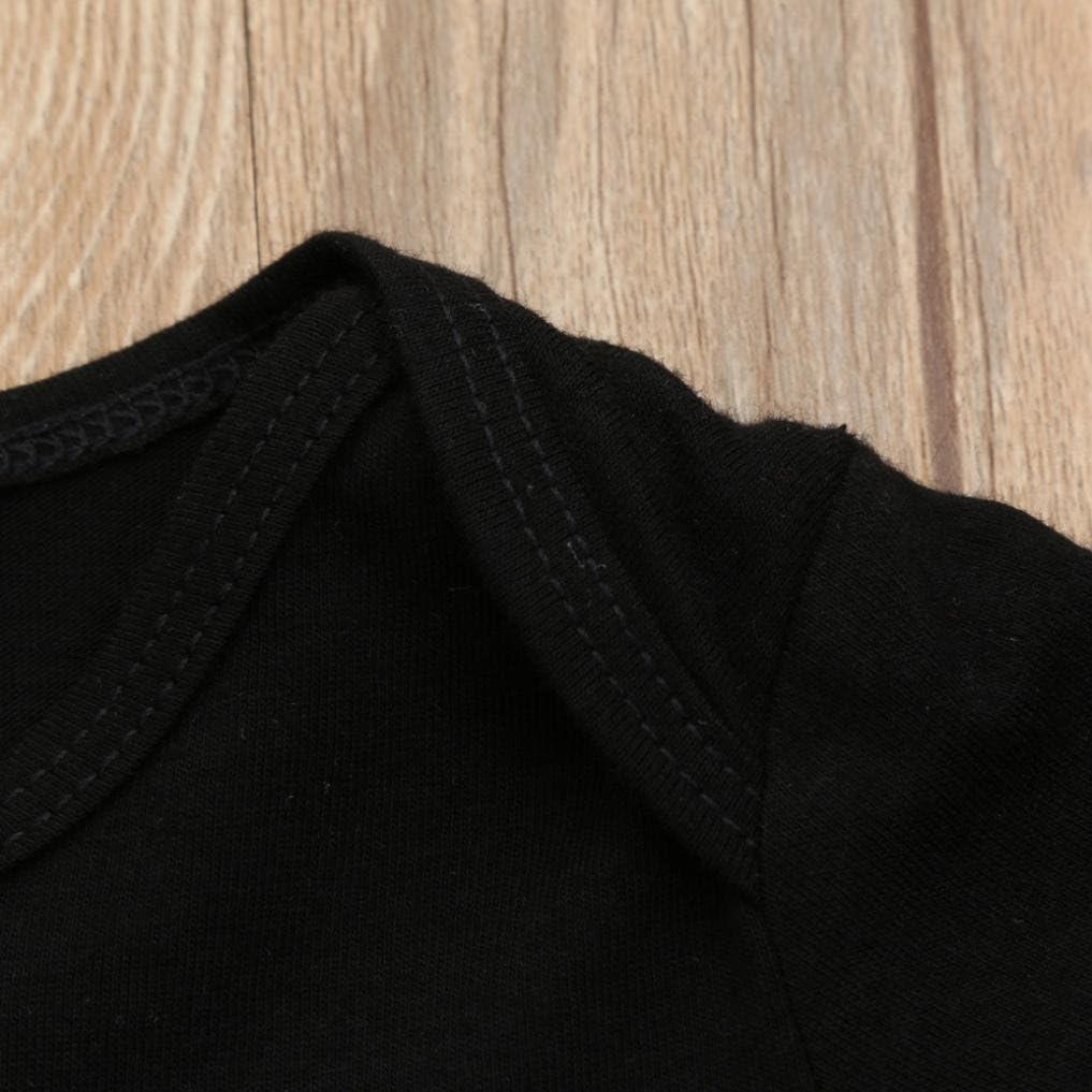 Jchen TM Family Matching Dad Mother Kids Baby Boys Girls Letter Print Short Sleeve T Shirt Tops