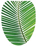 Toilet Tattoos TT-1500-O Palm Frond Design, Elongated