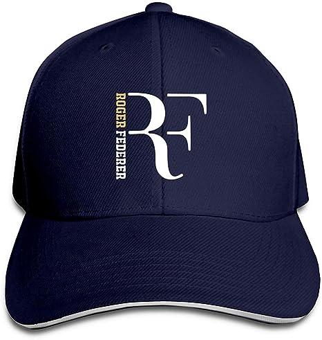 baishengjidianshebei Baseball RF-Roger Federer Unisex Dad Trucker ...