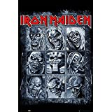 "Iron Maiden Poster ""Eddie's Evolution"" (24""x36"")"