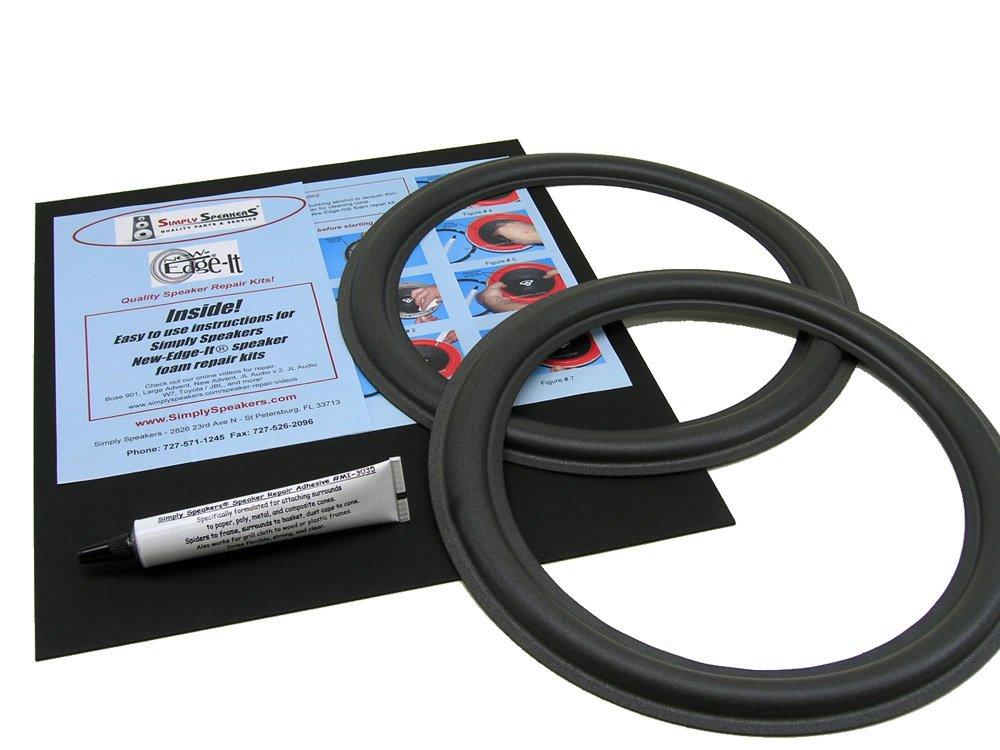 DynAudio Speaker Foam Edge Repair Kit, 11'' DynAudio 30W-54, 30W-100, MW-190, FSK-11DYN