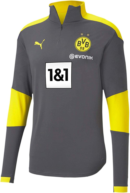 PUMA Men's Borussia Dortmund Training 1/4 Zip Top