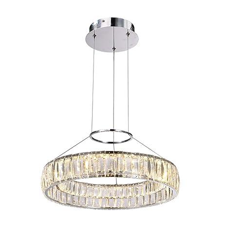 Cristal Lámpara de techo LED 1 x 30 W/LED Maxiscan ...