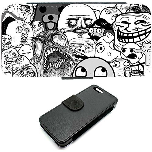 iPhone 5C, Motiv Meer mit Anker-Motiv im retro-Stil, mit Tasche