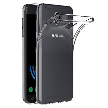 AICEK Funda Samsung Galaxy J5 2017, Transparente Silicona Fundas para Samsung J5 2017 Carcasa Silicona Funda Case (5,2 Pulgadas SM-J530F)
