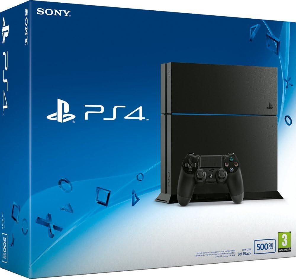 Sony PlayStation 4 - juegos de PC (PlayStation 4, 8192 MB, GDDR5, Blu-Ray/DVD, 500 GB, 10,100,1000 Mbit/s): Amazon.es: Videojuegos