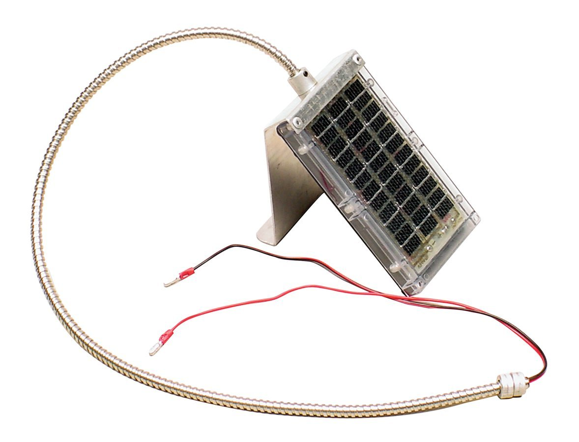 AMERICAN HUNTER 6 Volt Solar Panel with Mount 3' Shrodued Lead