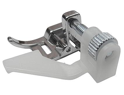 ZickZackNaehmaschine Blind Punto de pie prensatelas (7 mm) para Singer Simple 3210, cas