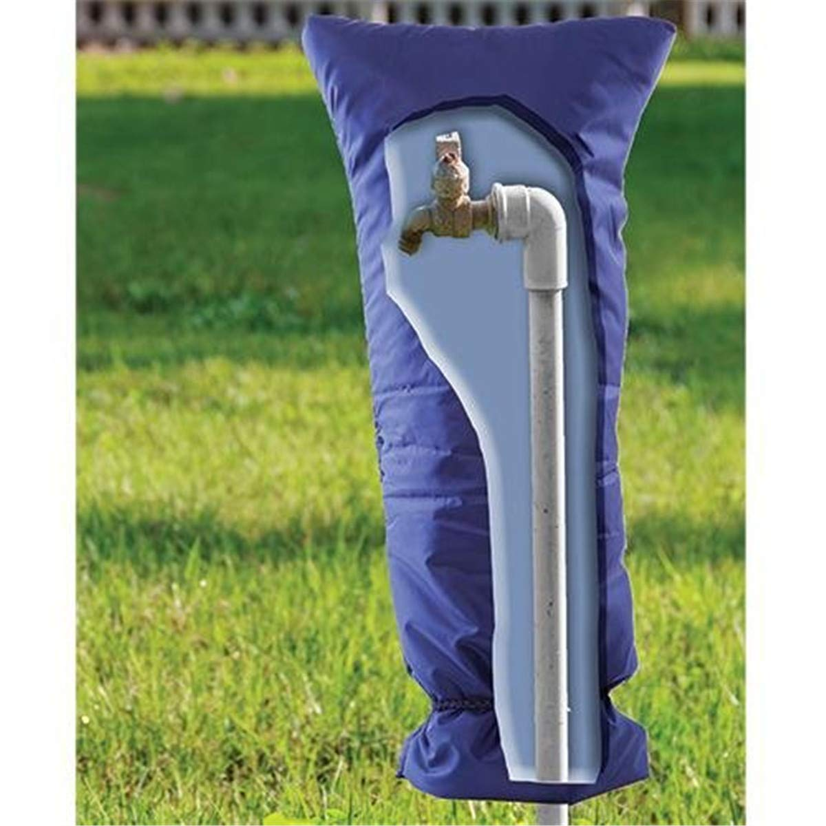 Outdoor Faucet Protector Gentlecarin Faucet Cover Outside Tap Cover//Spigot Cover//Faucet Protector,7.87x20 inch Faucet Socks for Winter Freeze Protection