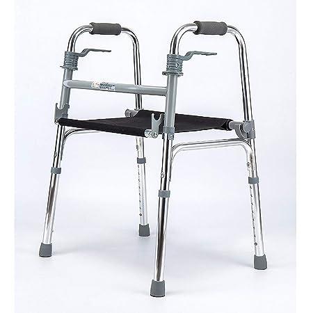 LYXPUZI andador ligero plegable para ancianos con cojín para ...
