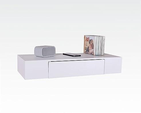 Design Trend Regal Board 60 x 24 cm Weiß als Wandregal Holz mit ...