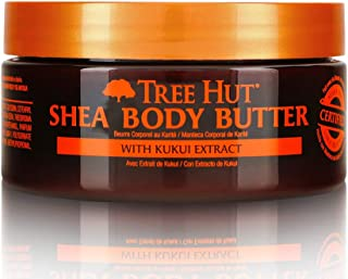 product image for Tree Hut 24 Hour Intense Hydrating Shea Body Butter Hawaiian Kukui, 7oz, Hydrating Moisturizer with Pure Shea Butter for Nourishing Essential Body Care