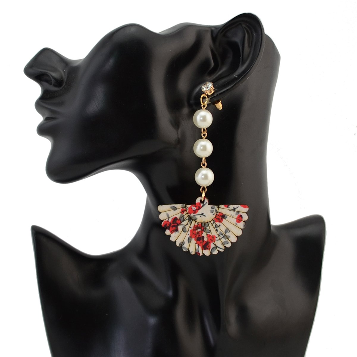 Vintage Bohemian Ethnic Sterling Silver Stabilized Tassel Fringe Turquoise Bead Stones Fan Shape Drop Earrings For Women Girls Anniversary Wedding Party Jewelry Charms