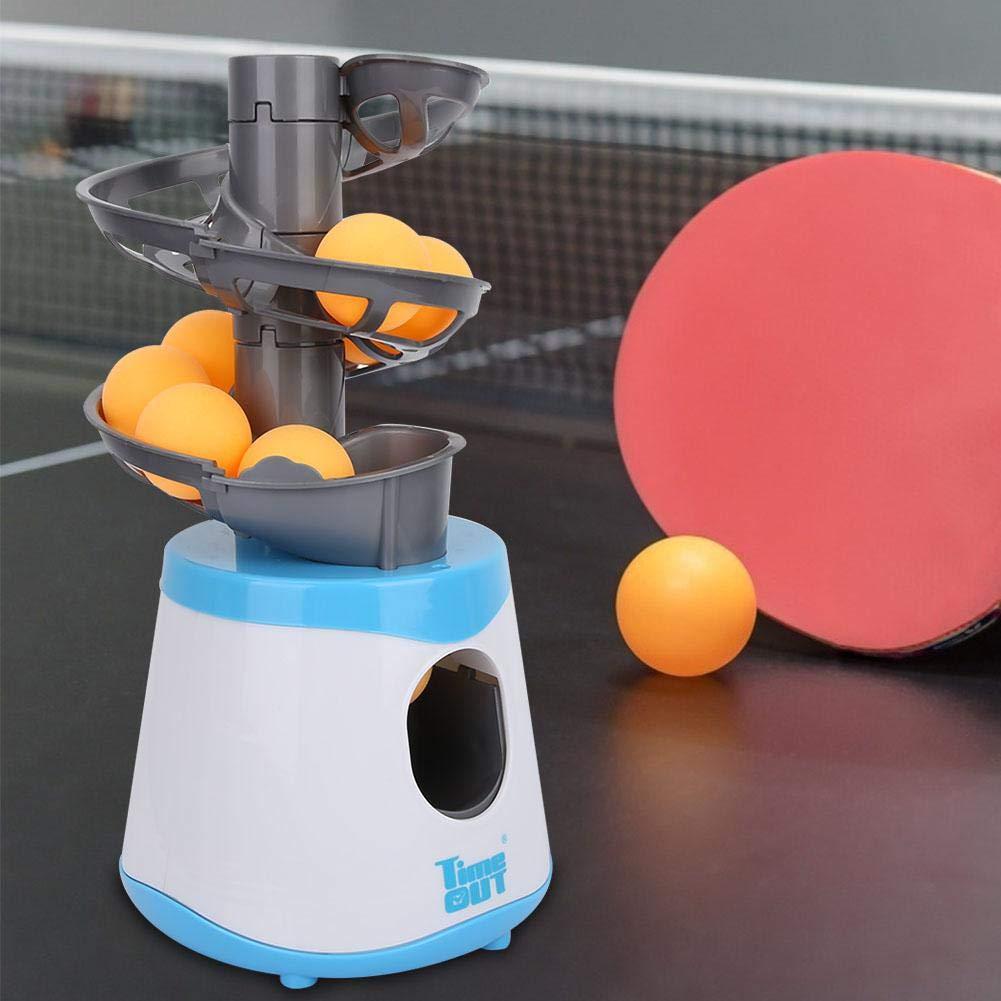 VGBEY M/áquina de la Bola del Tenis de Mesa Robot autom/ático de los Tenis de Mesa del Lanzador de la Bola de Ping-Pong con 15 Bolas para los ni/ños