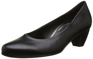Gabor Shoes Comfort, Zapatos de Tacón para Mujer, Negro (Schwarz 51), 40.5 EU