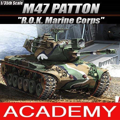 1/35 M47 PATTON ` R.O.K Marine Corps ` 13231 ACADEMY MODELS KITSの商品画像