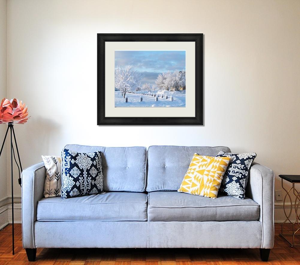 Ashley Framed Prints White, Wall Art Home Decoration, Color, 34x40 (frame size), AG6311170 by Ashley Framed Prints (Image #2)