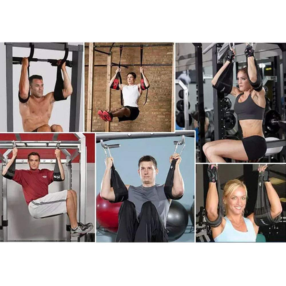 Start Training Abs The Right Way Unbekannt The Ultimate ABS Training Supporters,Hanging Ab Straps with Carabiner for Abs Crunches for Abdominal Muscle Building and Core Strength Training