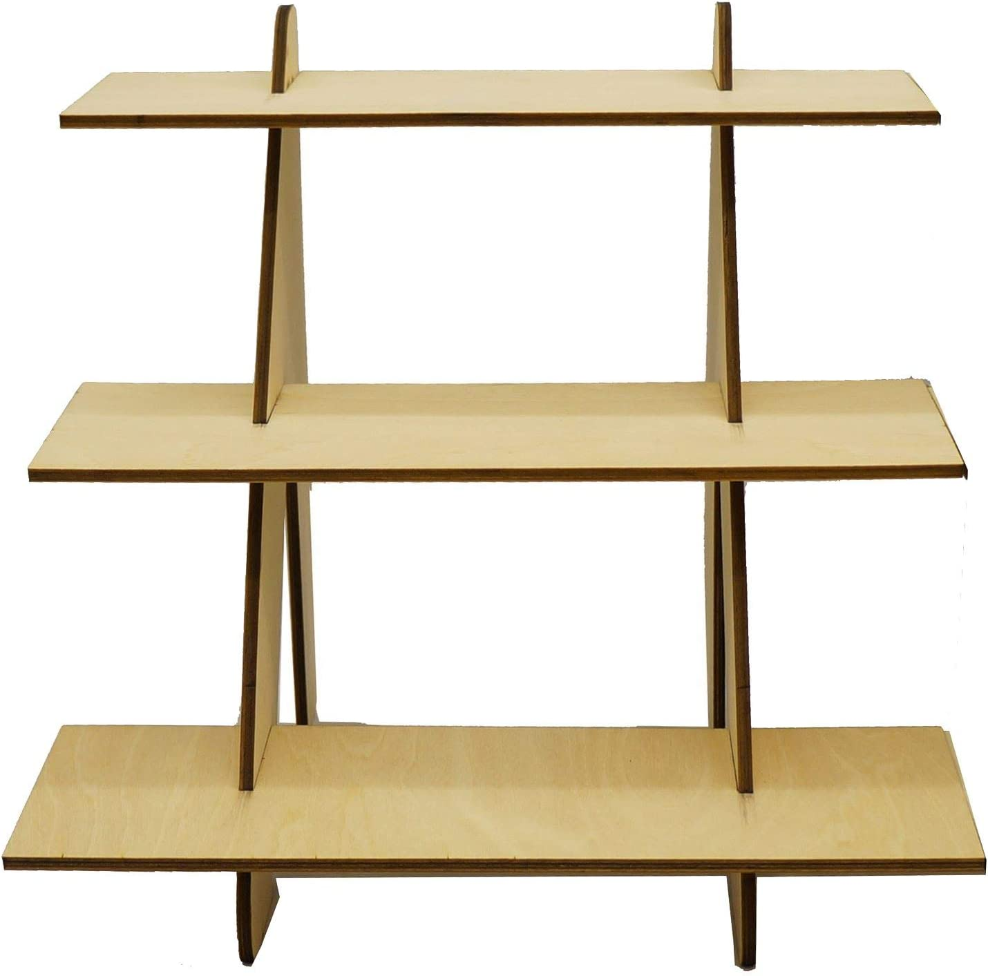 Jewelry Display Stand Craft Booth Display Tradeshow Display Portable Display Display Stand Flat-pack Display Wooden Jewelry Stand
