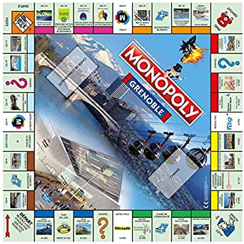 Winning Moves- Monopoly Grenoble, 0472 , color/modelo surtido: Amazon.es: Juguetes y juegos