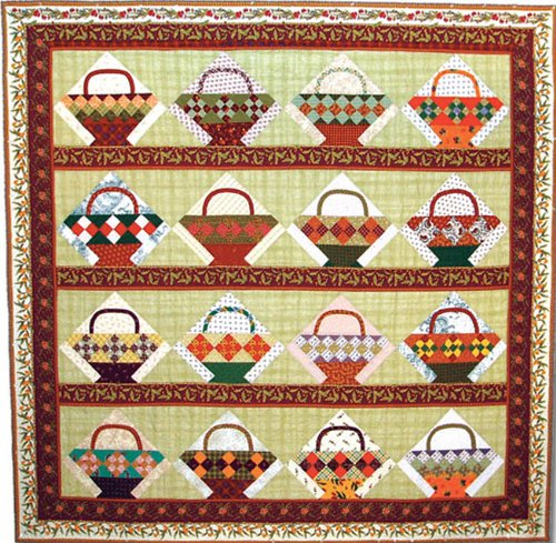 American Jane Patterns French Pantry Baskets Quilt