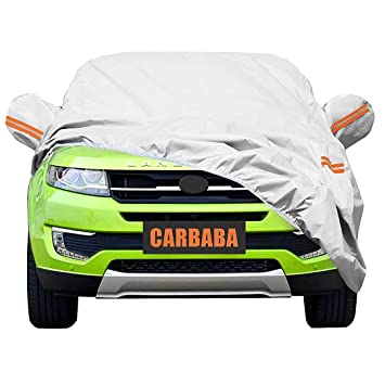 Universal Car Cover For Suv Waterproof Dustproof Snowproof All Weather Effectively Reduce Temperature Universal Uv Waterproof Full Car Cover