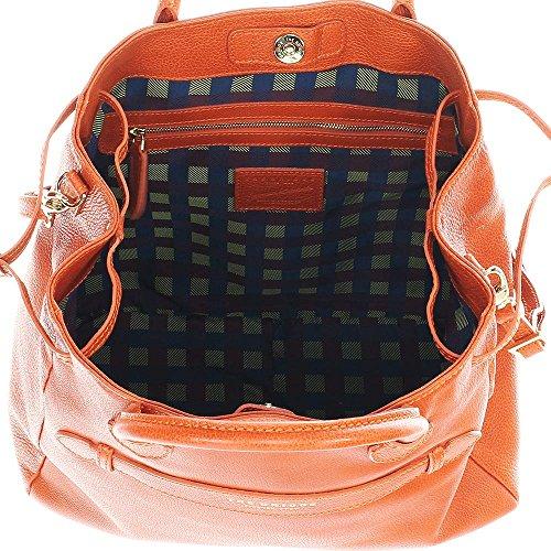 The Bridge Handbag Top Handle Orange