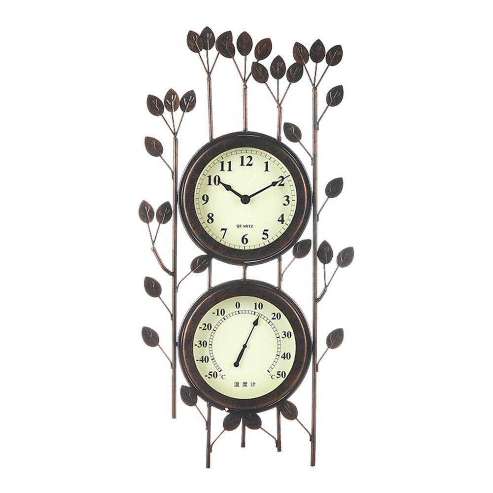 Unbekannt LXF Wanduhr Kreative Kunst Wanduhr Wohnzimmer Schlafzimmer Taschenuhr Startseite Schmuck Uhren und Uhren Thermometer Fashion Creative Uhr Wanduhren