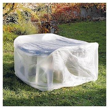 Housse de protection pour table ronde de jardin: Amazon.fr: Jardin