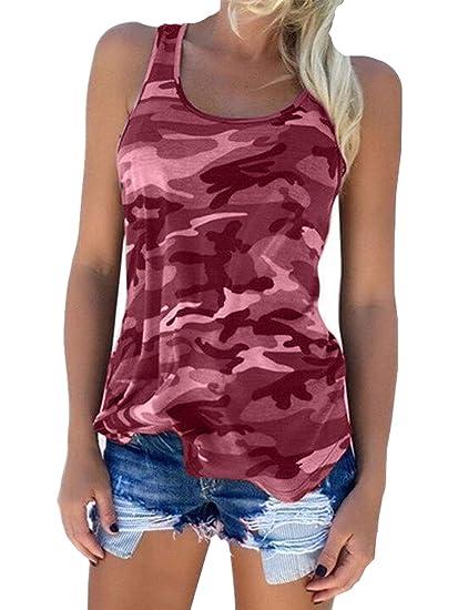 Amazon.com: Zcavy Camisas de yoga para mujer, estampado de ...