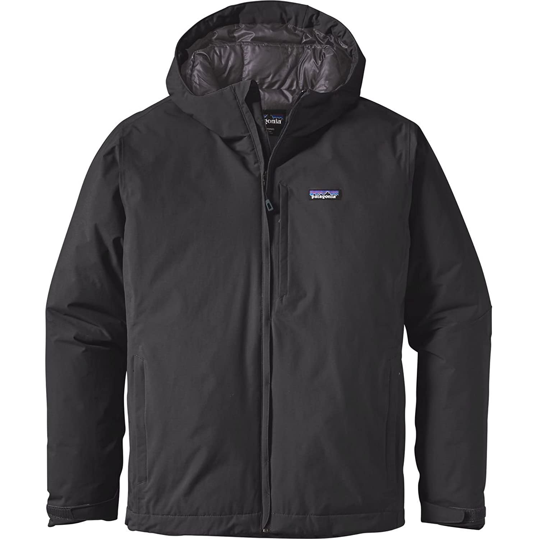 パタゴニア アウター ジャケット&ブルゾン Patagonia Windsweep Down Hooded Jacket Black bek [並行輸入品] B0716XMT9G XXL