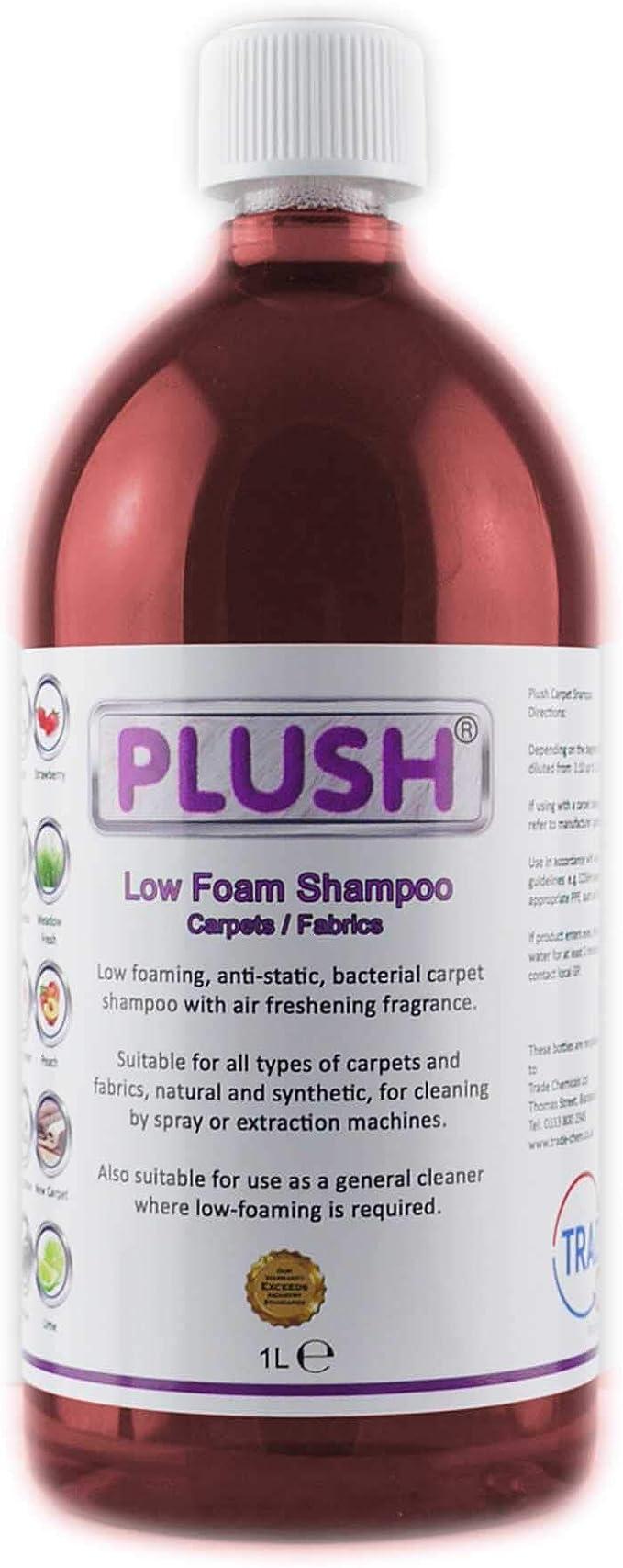 Champú limpiador de alfombras PLUSH de Trade Chemicals ...