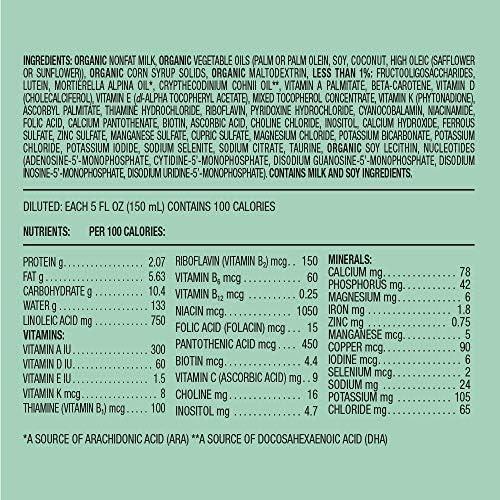 617dWnYI8kL. AC - Amazon Brand - Mama Bear USDA-Certified Organic Milk-Based Powder Infant Formula With Iron, 23.2 Ounce