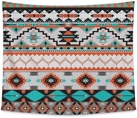 Gear New Wall Tapestry for Bedroom Hanging Art Decor College Dorm Bohemian, Navaho Pattern, Large, 104 inches Wide by 88 inches Tall