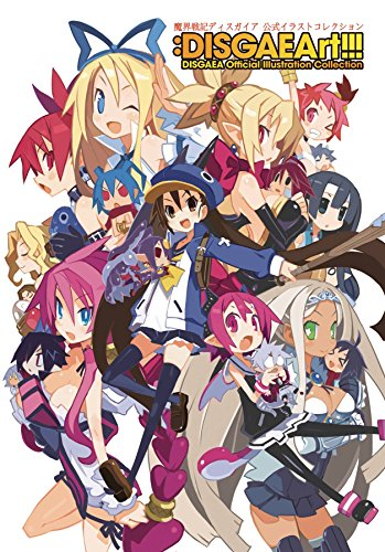 DISGAEArt!!! Disgaea Official Illustration Collection [Nippon Ichi Software] (Tapa Blanda)