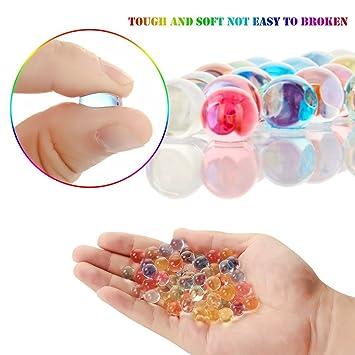 Prevently Toy Slime Esponjoso, Perlas de Colores mágicas de pecera para Manualidades caseras: Amazon.es: Deportes y aire libre
